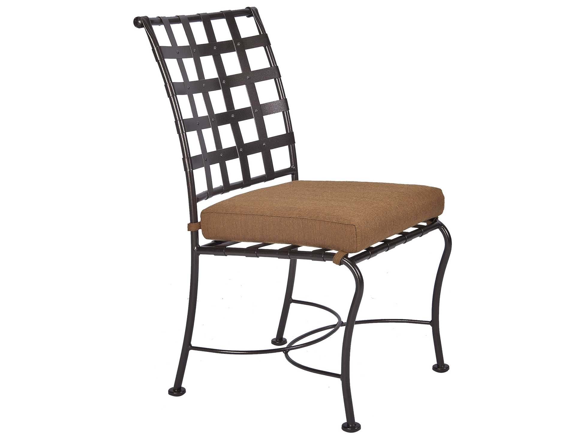 OW Lee Classico Wrought Iron Dining Side Chair