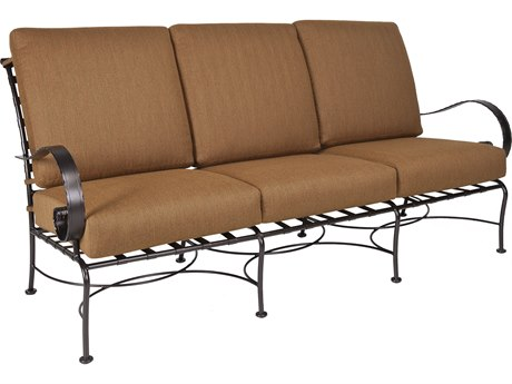 OW Lee Classico Wide Arms Wrought Iron Sofa