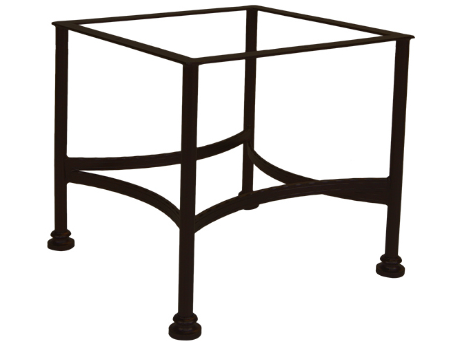 Ow lee classico wrought iron conversation table base 9 lt03 for Outdoor table bases wrought iron