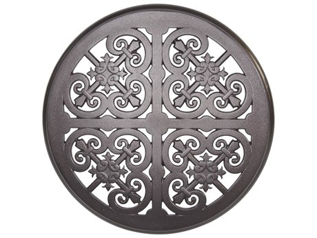 OW Lee Hacienda Cast Aluminum 24 Round Table Top
