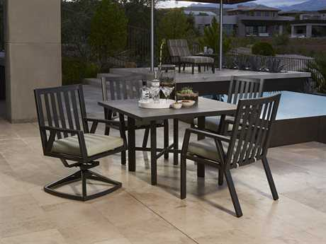 OW Lee Aris Aluminum Dining Set