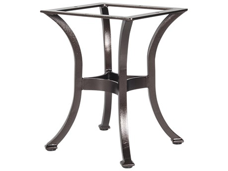 OW Lee Aluminum Side Table Base Fits for 24-30 Round & 24 Square Tops