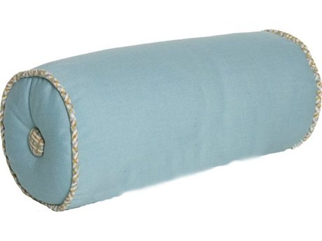 Design Harmony Bolster Accent Pillow With Decorative Trim