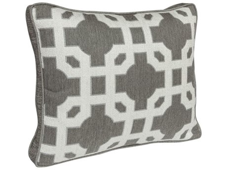 OW Lee Design Harmony Boxed Accent Pillow With Decorative Trim