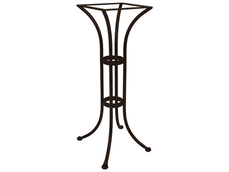 OW Lee Wrought Iron Round Bar Table Base