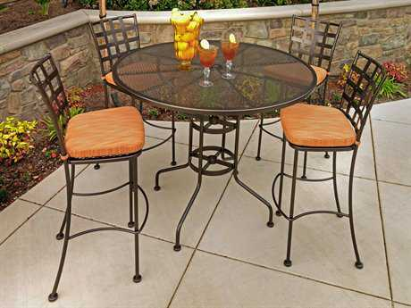OW Lee Casa Wrought Iron Bar Set
