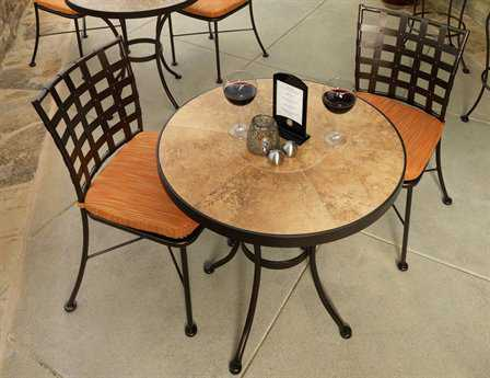 OW Lee Casa Wrought Iron Bistro Set