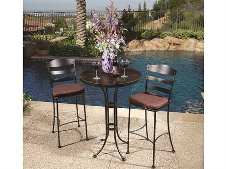 OW Lee Chalet Wrought Iron Bar Set