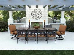 Classico Wide Arms Wrought Iron Dining Set
