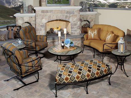 OW Lee Cambria Wrought Iron Lounge Set