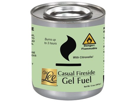 OW Lee Citronella Scented Gel Fuel Canisters