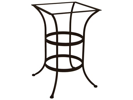 OW Lee Wrought Iron Square Counter Table Base