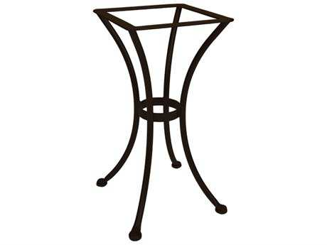 OW Lee Wrought Iron Round Dining Table Base