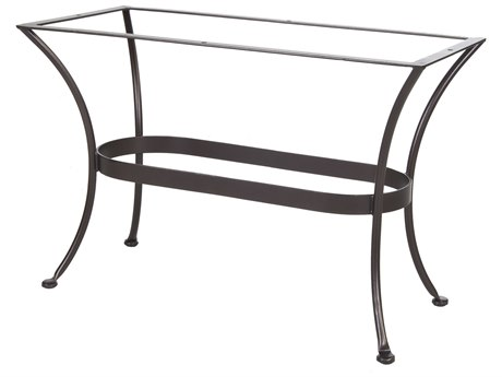 OW Lee Standard Table Base Wrought Iron 20 x 43 Rectangular