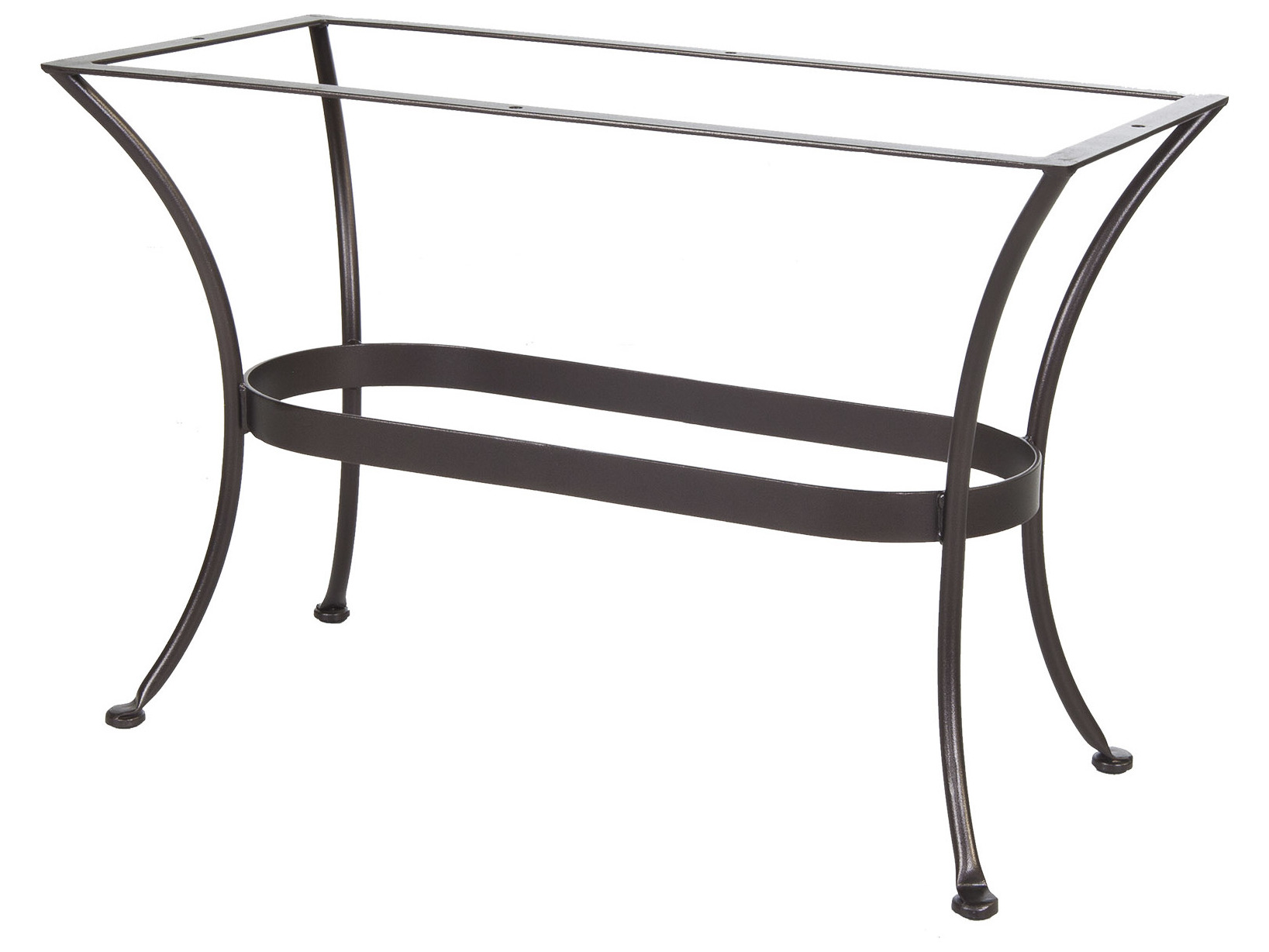 OW Lee Standard Table Base Wrought Iron 20 X 43