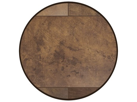 OW Lee City Porcelain 24'' Wide Round Lazy Susan in Standard Rim PatioLiving