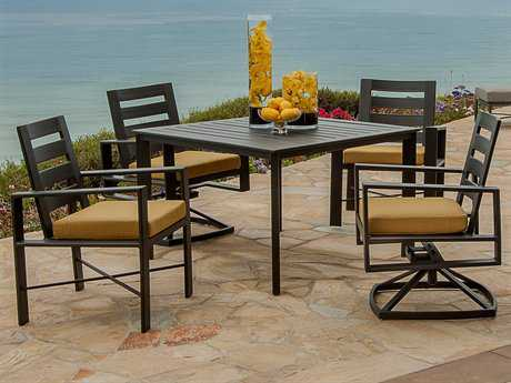 OW Lee Gios Aluminum Dining Set