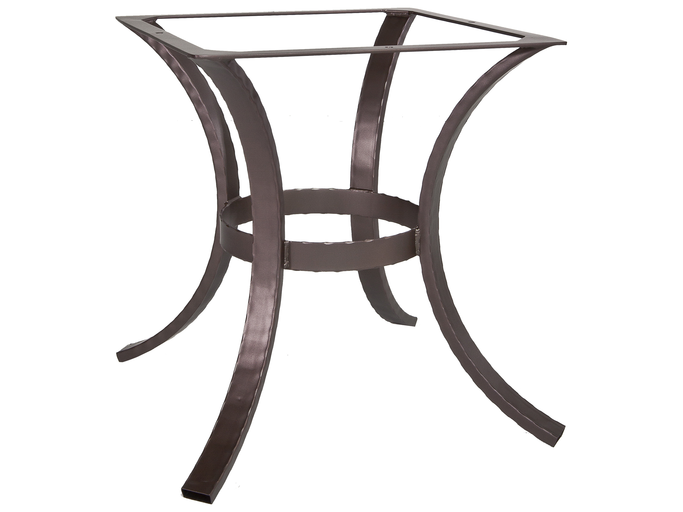 Picture of: Ow Lee Hammered Wrought Iron 03 Dining Table Base Hi Dt03
