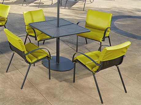 OW Lee Lennox Steel Dining Set