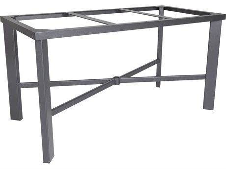 OW Lee Modern Aluminum Dining Table Base