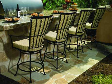 OW Lee Monterra Wrought Iron Bar Set