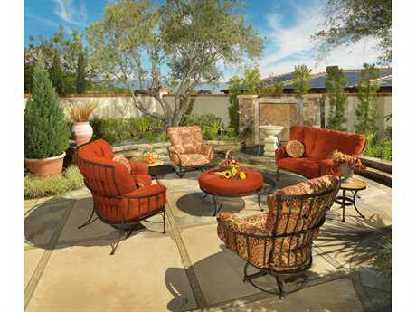 OW Lee Monterra Wrought Iron Lounge Set