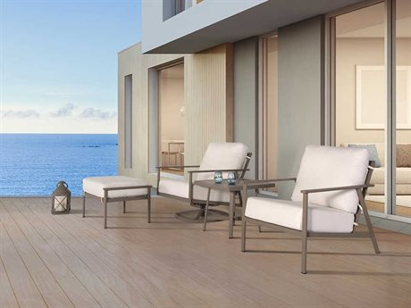 OW Lee Marin Aluminum Lounge Set