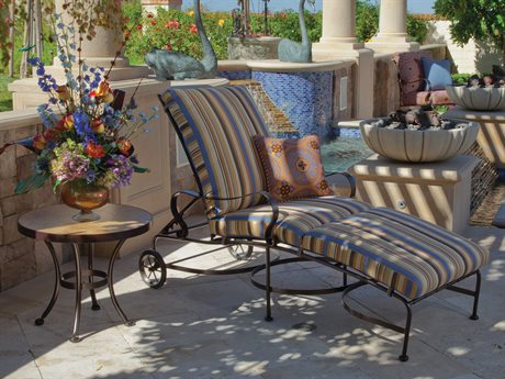 OW Lee Marquette Wrought Iron Lounge Set
