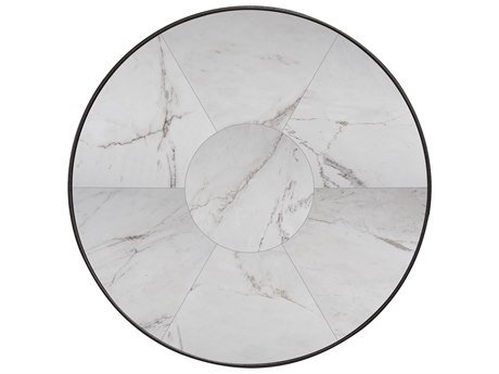 OW Lee Porcelain Tile 42 Round Table Top