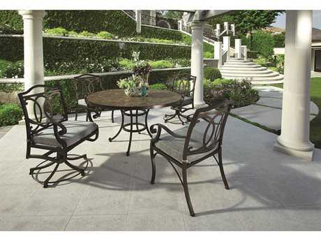 OW Lee Palisades Aluminum Dining Set