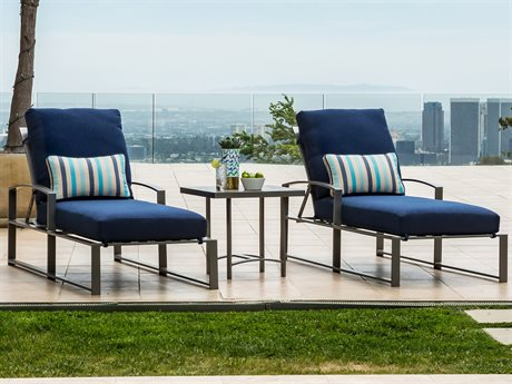 OW Lee Pacifica Wrought Iron Lounge Set