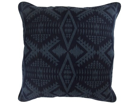 OW Lee Pendleton Design Harmony Small Accent Pillow in Diamond River Tonal Midnight OWPDTP1919WPC