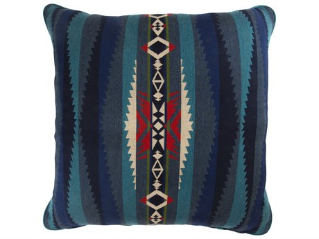 OW Lee Pendleton Design Harmony Larege Accent Pillow in Lahaina Wave Turquois OWPDTP2121WPC
