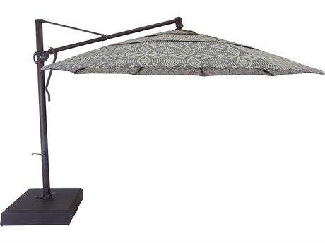 OW Lee Pedalton Aluminum 13' Cantilever Umbrella