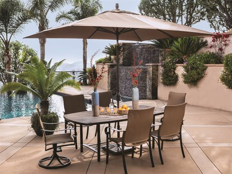 OW Lee Pasadera Steel Dining Set PatioLiving