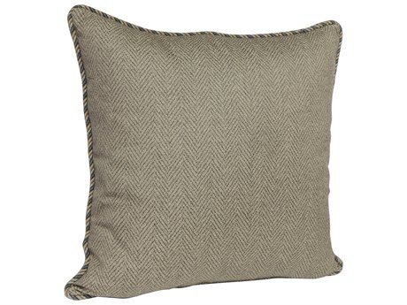 OW Lee Quick Ship 21'' Accent Pillow in Harris Stone OWQSTP2121W