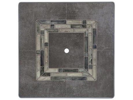 OW Lee Rio Fresco Porcelain 42 Square Table Top& Umbrella Hole