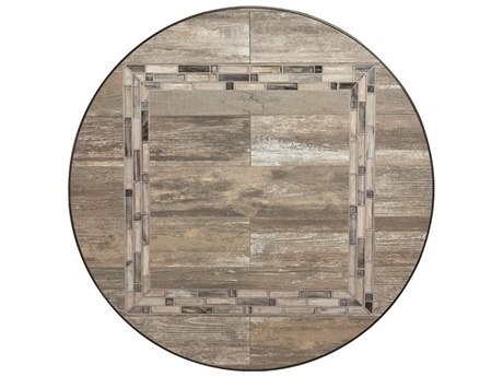 OW Lee Rio Reclaimed Porcelain 42 Round Table Top