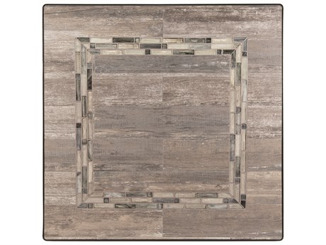 OW Lee Rio Reclaimed Porcelain 42 Square Table Top