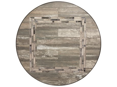 OW Lee Rio Reclaimed Porcelain 48 Round Table Top
