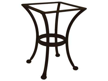 OW Lee Wrought Iron Round End Table Base