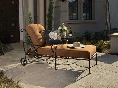 OW Lee St. Charles Wrought Iron Lounge Set