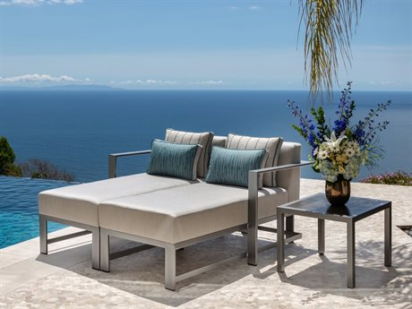 OW Lee Studio Aluminum Lounge Set PatioLiving