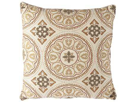 OW Lee Courtyard Throw 19 Square Solid Pillow