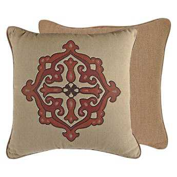 OW Lee Emblem Cordoba 19 x 19 Square Pillow