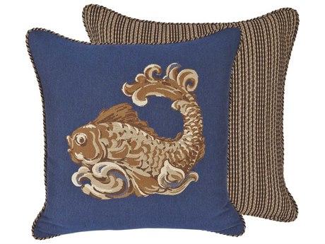 OW Lee Emblem Corsica 19 x 19 Square Pillow