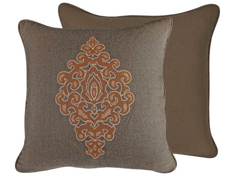OW Lee Emblem Durango 19 x 19 Square Pillow
