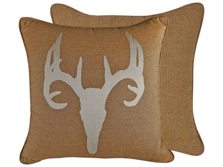 OW Lee Emblem Santa Fe 19 x 19 Square Pillow