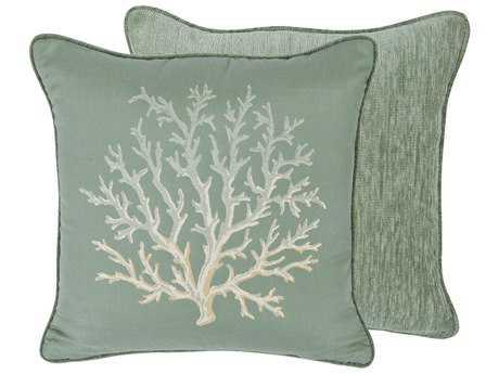 OW Lee Emblem St. Croix 19 x 19 Square Pillow