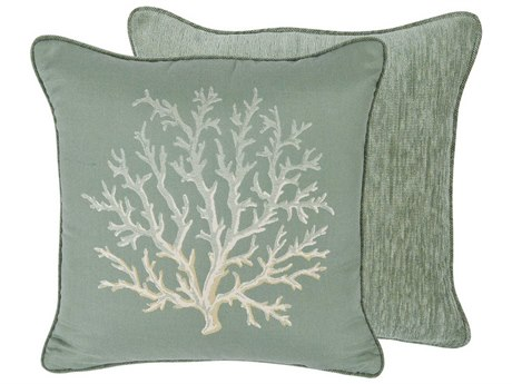 OW Lee Emblem St. Croix 19 x 19 Square Pillow